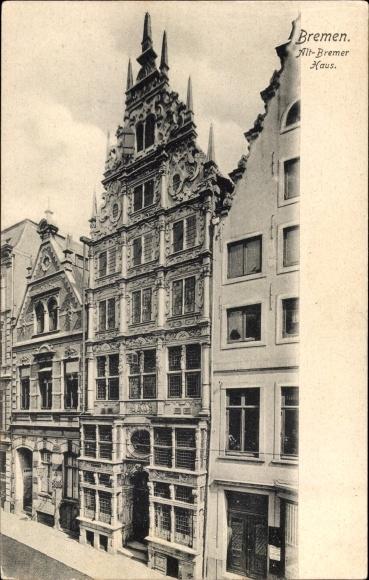 Hansestadt Bremen, Blick auf das Altbremer Haus