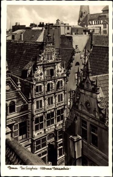 Hansestadt Bremen, Blick auf das Essighaus, Altbremer Patrizienhaus