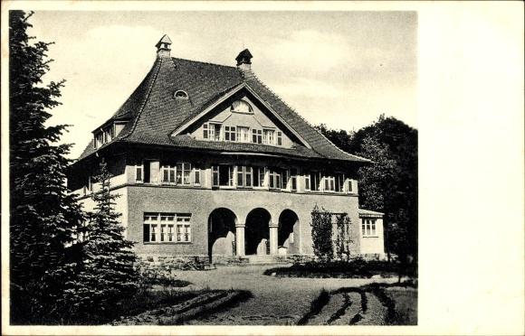Hotel Haus Eichberg alte Postkarte