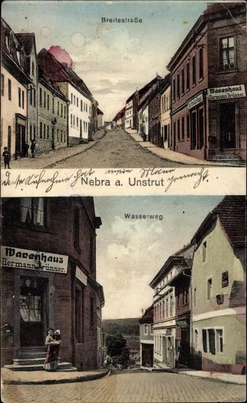 Postcard Nebra An Der Unstrut Im Burgenlandkreis Akpool Co Uk