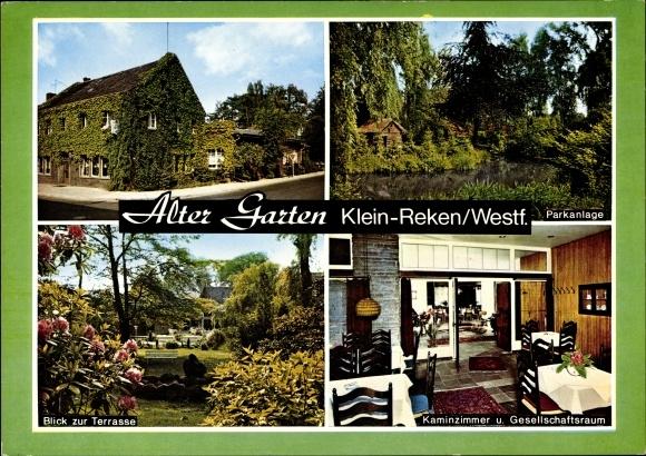 Ansichtskarte Postkarte Klein Reken Nrw Alter Garten Akpool De