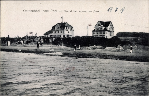 Ansichtskarte Postkarte Ostseebad Insel Poel Strand Akpoolde
