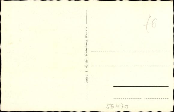 ansichtskarte postkarte bad marienberg im westerwaldkreis blick auf das schwimmbad. Black Bedroom Furniture Sets. Home Design Ideas