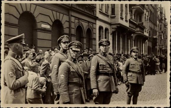 Photo Postcard Hannover, Stahl...