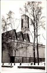 Postcard Kokkola Karleby Westfinnland, Gamlakerleby, Blick auf die Kirche