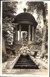 Postcard Schwetzingen im Rhein Neckar Kreis, Apollotempel im Schlossgarten