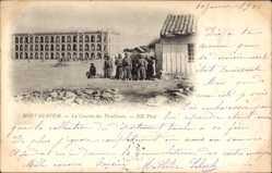 Ak Mostaganem Oran Algerien, La Caserne des Tirailleurs, Schützenkaserne