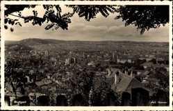 Postcard Stuttgart in Baden Württemberg, Panoramablick auf die gesamte Stadt