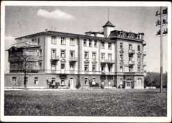 Postcard Bad Wörishofen im schwäbischen Kreis Unterallgäu, Kurhotel Victoria