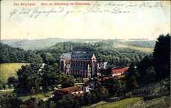 Postcard Altenberg Odenthal Bergisches Land, Blick auf die Ortschaft mit Dom