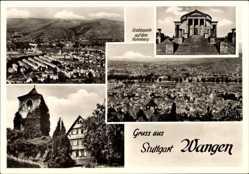 Postcard Wangen Stuttgart in Baden Württemberg, Grabkapelle auf dem Rotenberg