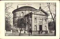 Postcard Skierniewice Polen, Kosciol, Ansicht der Kirche