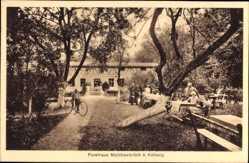 Ak Malchowbrück Malechowo Ustronie Morskie Hengenhagen Pommern, Forsthaus