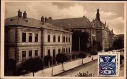 Postcard Banská Bystrica Neusohl Slowakei, Sudobna ulica, Ucitelsky Ustav