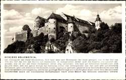 Postcard Heidenheim an der Brenz, Blick auf das Schloss Hellenstein