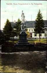 Postcard Bad Orb im Main Kinzig Kreis Hessen, Neues Kriegerdenkmal mit Amtsgericht