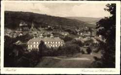 Postcard Bad Orb im Main Kinzig Kreis Hessen, Sanatorium mit Wilhelmshaus