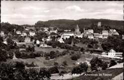 Postcard Altweilnau Weilrod im Weiltal Hochtaunuskreis, Stadtpanorama, Kirche