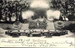 Postcard Bad Homburg vor der Höhe im Hochtaunuskreis, Elisabethbrunnen, Wandelhalle