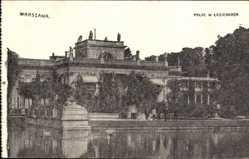 Postcard Warszawa Warschau Polen, Palac W Lazienkach, Blick auf einen Palast