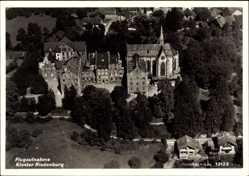 Postcard Riedenburg in Niederbayern, Fliegeraufnahme vom Kloster