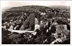 Postcard Tübingen am Neckar, Blick von Osten auf die gesamte Stadt