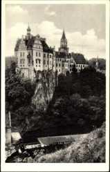 Postcard Sigmaringen an der Donau Baden Württemberg, Blick auf das Schloss