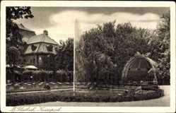 Postcard Mönchengladbach in Nordrhein Westfalen, Springbrunnen im Kaiserpark
