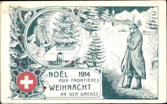 Frohe Weihnachten Schweiz.Postcard Frohe Weihnachten Schweiz Weihnacht An Der Akpool Co Uk