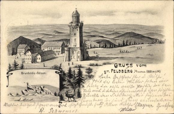 Artist Postcard Schmitten Im Hochtaunuskreis Hessen Akpool Co Uk