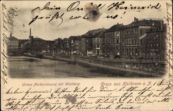 Ansichtskarte Postkarte Heilbronn In Baden Württemberg Akpoolde