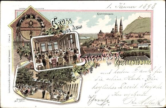 Chromo Litho Klosterneuburg In Niederösterreich Akpoolcouk