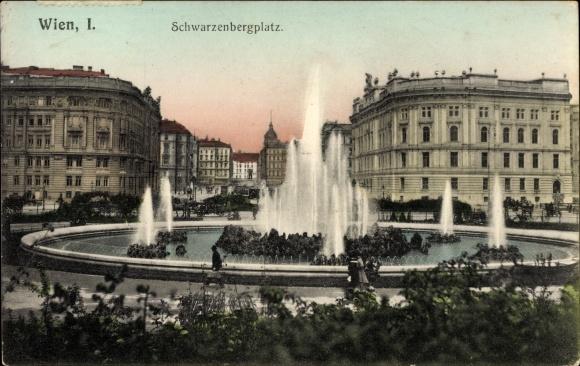 Postcard Wien 1 Innere Stadt österreich Akpoolcouk