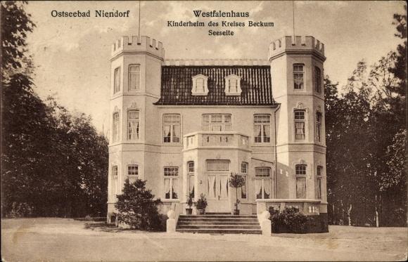 Ansichtskarte Postkarte Niendorf Timmendorfer Strand Akpool De