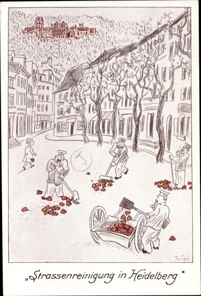 Künstler Heidelberg künstler ansichtskarte postkarte trier heidelberg am akpool de