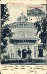 Postcard Cintra Sintra Portugal, Palacio de Monserrat, Grand Hotel Central