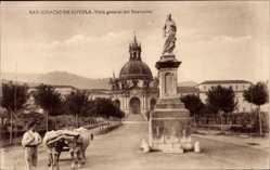 Postcard Loyola Baskenland Spanien, San Ignacio de Loyola, Vista general del Santuario