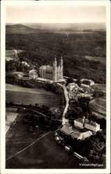 Postcard Vierzehnheiligen Staffelstein am Main Oberfranken,Fliegeraufnahme,Kloster