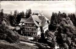 Postcard Unterlengenhardt Bad Liebenzell im Schwarzwald, Sanatorium Berghalde