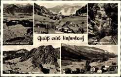 Postcard Tiefenbach Oberstdorf im schwäbischen Kreis Oberallgäu,Rohrmoos,Breitachklamm