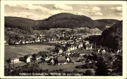 Postcard Calmbach Bad Wildbad im Kreis Calw Baden Württemberg, Blick auf den Ort