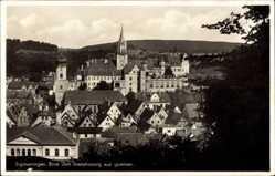 Postcard Sigmaringen an der Donau Baden Württemberg, Blick vom Josephsweg