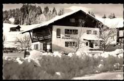 Postcard Faistenoy Oy Mittelberg im Allgäu, Haus Sonnenstein im Winter
