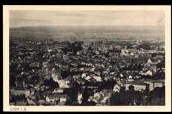 Postcard Lahr im Schwarzwald Ortenaukreis, Totalansicht der Stadt