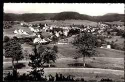 Postcard Pfeffingen Albstadt Schwäb. Alb, Gesamtansicht der Ortschaft