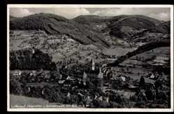 Postcard Ottenhöfen im Schwarzwald Ortenaukreis, Totalansicht des Ortes