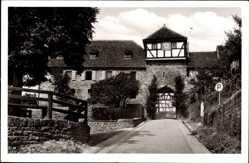 Postcard Dilsberg Neckargemünd in Baden Württemberg, Blick auf Jugendherberge