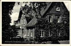 Postcard Hanstedt in der Nordheide, Gasthaus zu den Linden, Fritz Sellhorn