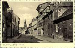 Ak Tschernjachowsk Insterburg Ostpreußen, Spritzenstraße, Kirchturm