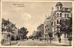 Ak Tschernjachowsk Insterburg Ostpreußen, Wilhelmstraße, Häuser